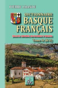 Livre numérique Dictionnaire basque-français (Tome 2 : K-Z)