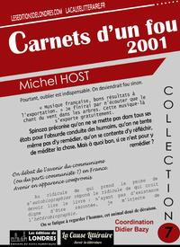 Livre numérique Carnets d'un fou 2001