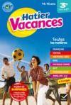 E-Book Cahier de vacances de la 3e vers la 2de - 2020