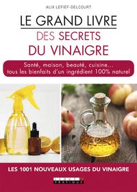 Libro electrónico Le grand livre des secrets du vinaigre