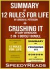 Livre numérique Summary of 12 Rules for Life: An Antidote to Chaos by Jordan B. Peterson + Summary of Crushing It by Gary Vaynerchuk 2-in-1 Boxset Bundle