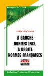 Livre numérique A gauche normes IFRS, à droite normes françaises