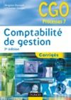 Livre numérique Comptabilité de gestion - 5e éD.