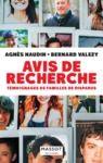 Livre numérique Avis de recherche - Témoignages de familles de disparus