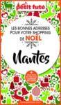 Electronic book SHOPPING DE NOËL À NANTES 2020 Petit Futé