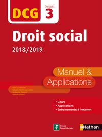 Livre numérique DCG 3 - Droit social - 2018-2019