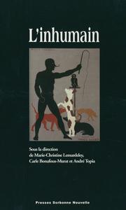 Electronic book L'Inhumain