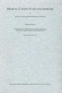 Livre numérique Marcel Cohen et ses successeurs ou Cent ans d'études éthiopiennes en France