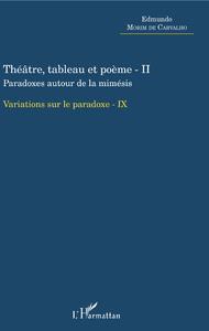 Livre numérique Théâtre, tableau et poème - II