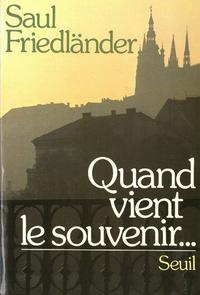 Electronic book Quand vient le souvenir...