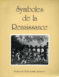 Livre numérique Symboles de la Renaissance. Tome I
