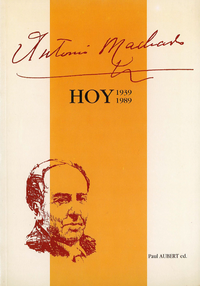 Livre numérique Antonio Machado hoy (1939-1989)