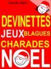 E-Book Devinettes et blagues de Noël. Charades, jeux de lettres et jeux de mots.