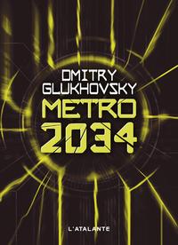 Livre numérique Métro 2034