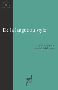 Livre numérique De la langue au style