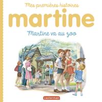 Livre numérique Mes premiers Martine - Martine va au zoo