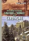 Livre numérique Petite Histoire des Stations thermales et climatiques de la Cerdagne