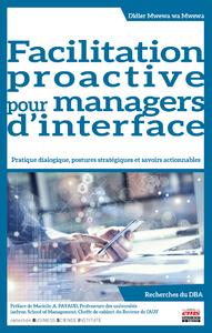 Livre numérique Facilitation proactive pour managers d'interface