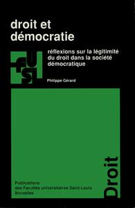 Livre numérique Droit et démocratie