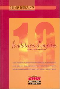 Livre numérique 10 Fondateurs d'Empires