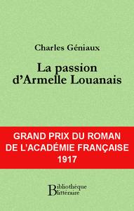 Livre numérique La passion d'Armelle Louanais