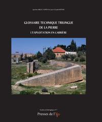 Livre numérique Glossaire technique trilingue de la pierre