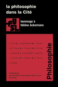 Livre numérique La philosophie dans la Cité