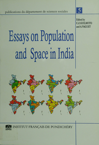 Electronic book Essays on population and space in India
