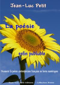 Livre numérique La poésie enfin publiable
