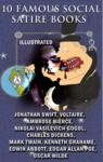 Livro digital 10 Famous Social Satire Books (Illustrated)