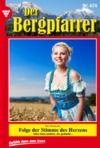 Livre numérique Der Bergpfarrer 474 – Heimatroman