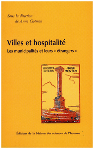 Livre numérique Villes et hospitalité