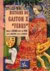 "Electronic book Histoire de Gaston X ""Febus"""