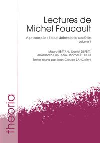 Livre numérique Lectures de Michel Foucault. Volume 1