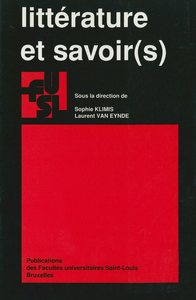Livre numérique Littérature et savoir(s)