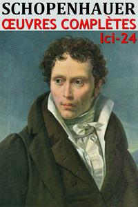 Livre numérique Arthur Schopenhauer - Oeuvres complètes