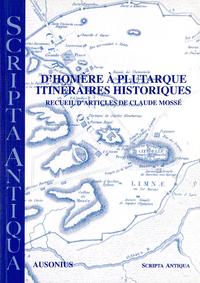 Livre numérique D'Homère à Plutarque. Itinéraires historiques