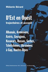 Livre numérique D'Est en Ouest, trajectoires et accueil