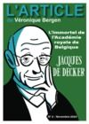 Electronic book Jacques De Decker :