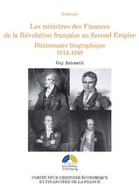Livre numérique Les ministres des Finances de la Révolution française au Second Empire (II)