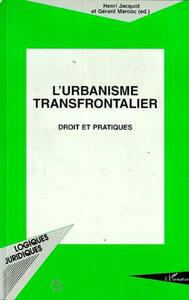 Livre numérique L'urbanisme Transfrontalier