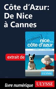 Livre numérique Côte d'Azur : De Nice à Cannes