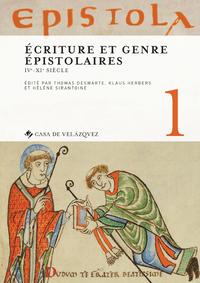 Livre numérique Epistola 1. Écriture et genre épistolaires