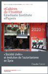 Electronic book «Société civile» et évolution de l'autoritarisme en Syrie
