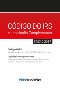 Livre numérique Código do IRS - 2017