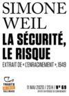 Electronic book Tracts de Crise (N°69) - La Sécurité, le risque