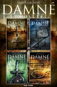 Livro digital Coffret Damné - tomes 1,2,3,4