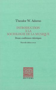Livre numérique Introduction à la sociologie de la musique