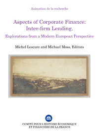 Electronic book Aspects of Corporate Finance: Inter-firm Lending