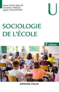 Livre numérique Sociologie de l'école - 5e éd.